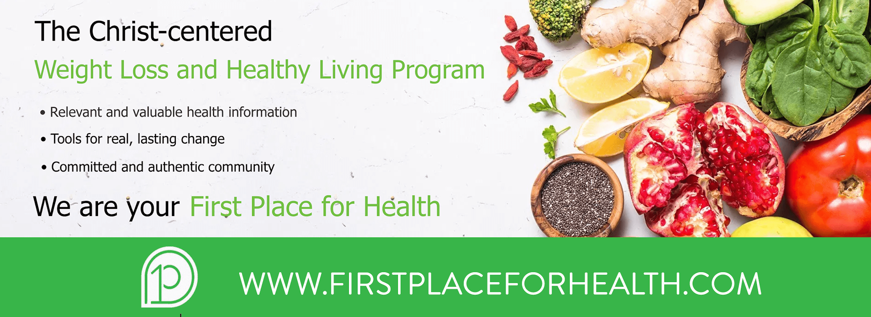 First Place for Health Ad-min